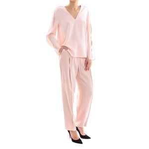 3.1 Phillip Lim Powder Pink Tailored Crepe Pants